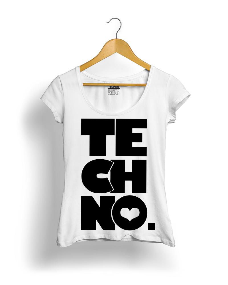 TECHNO STYLE Női Póló - TECHNO STYLE 0adcce7662