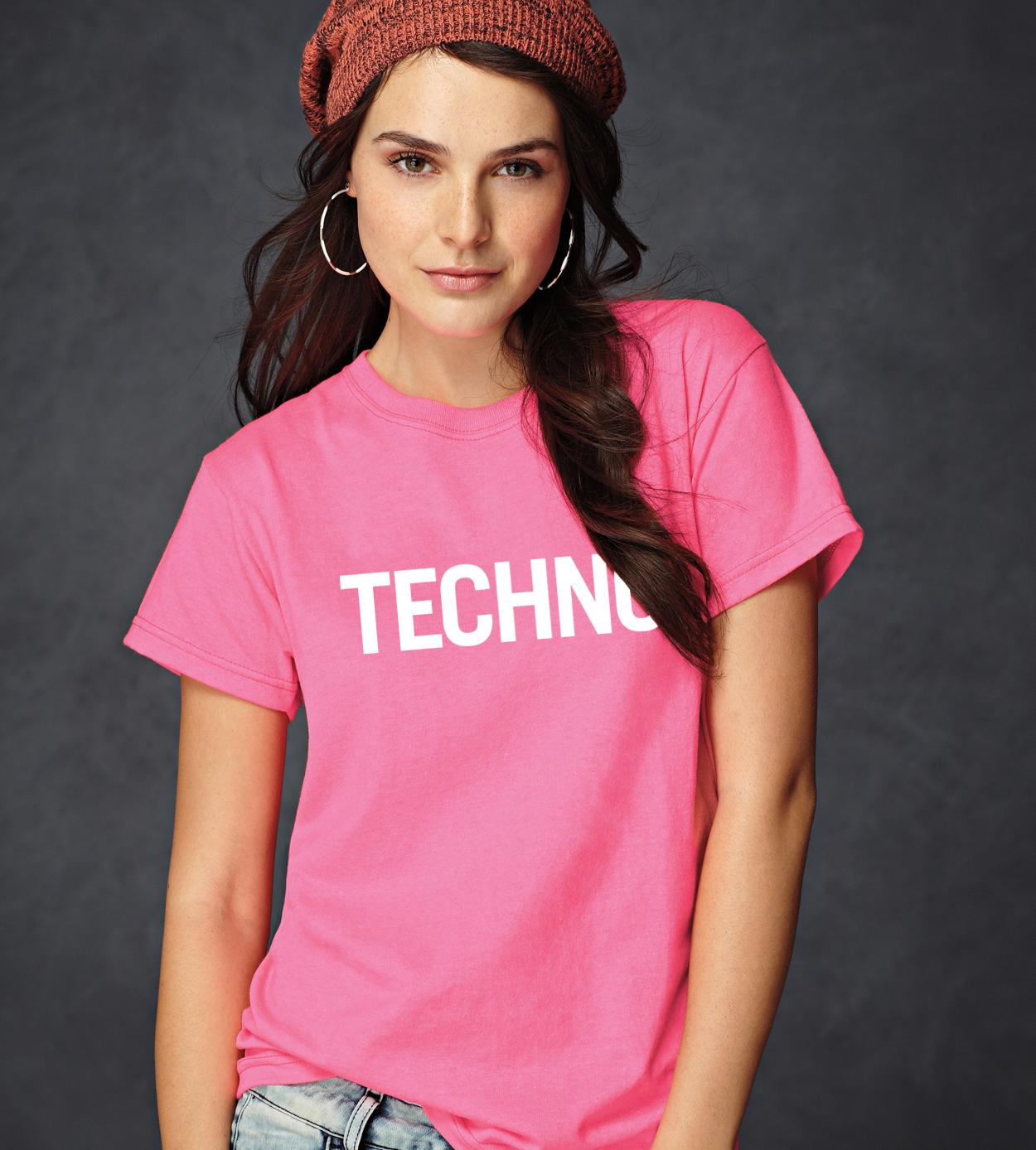 TECHNO Női Póló - TECHNO STYLE e1f4cd4db8