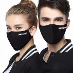 I love techno arc maszk fekete